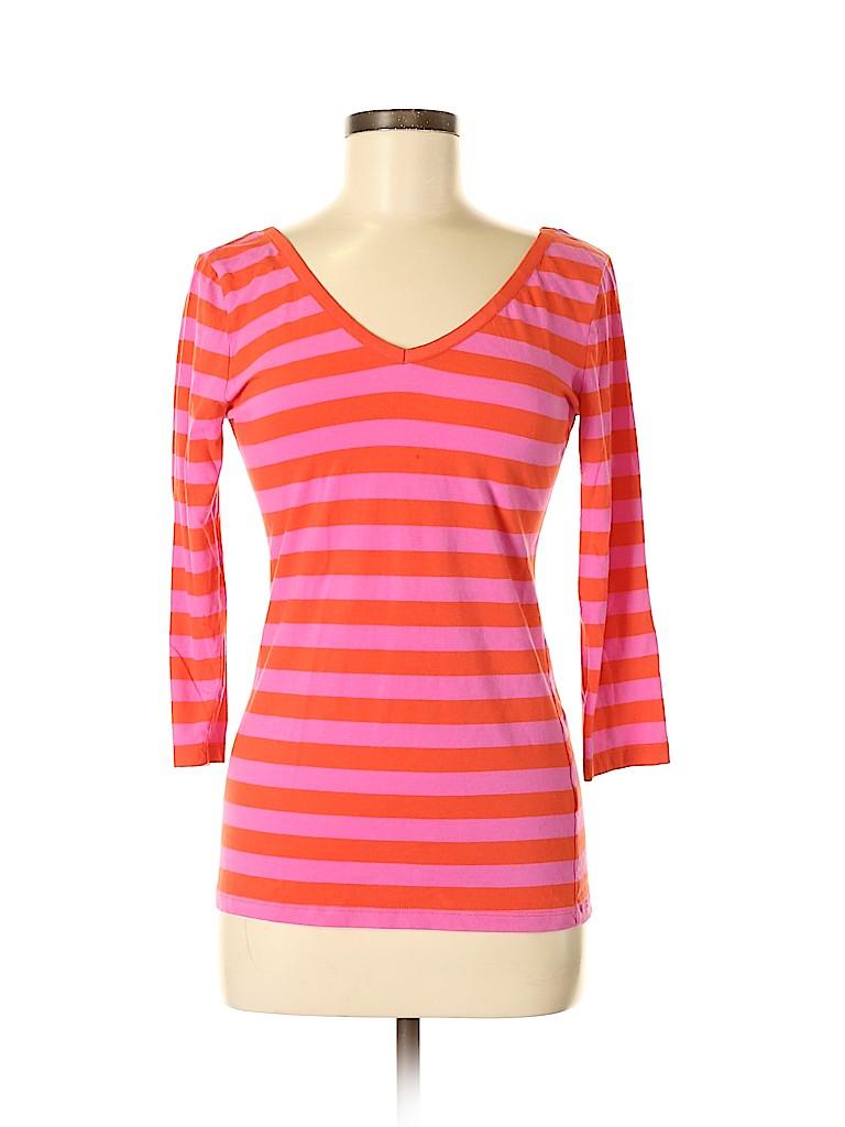 Banana Republic Women 3/4 Sleeve T-Shirt Size M
