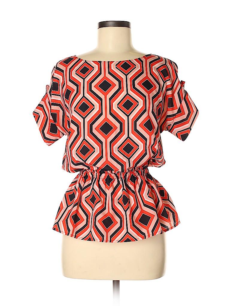MICHAEL Michael Kors Women Short Sleeve Blouse Size 4
