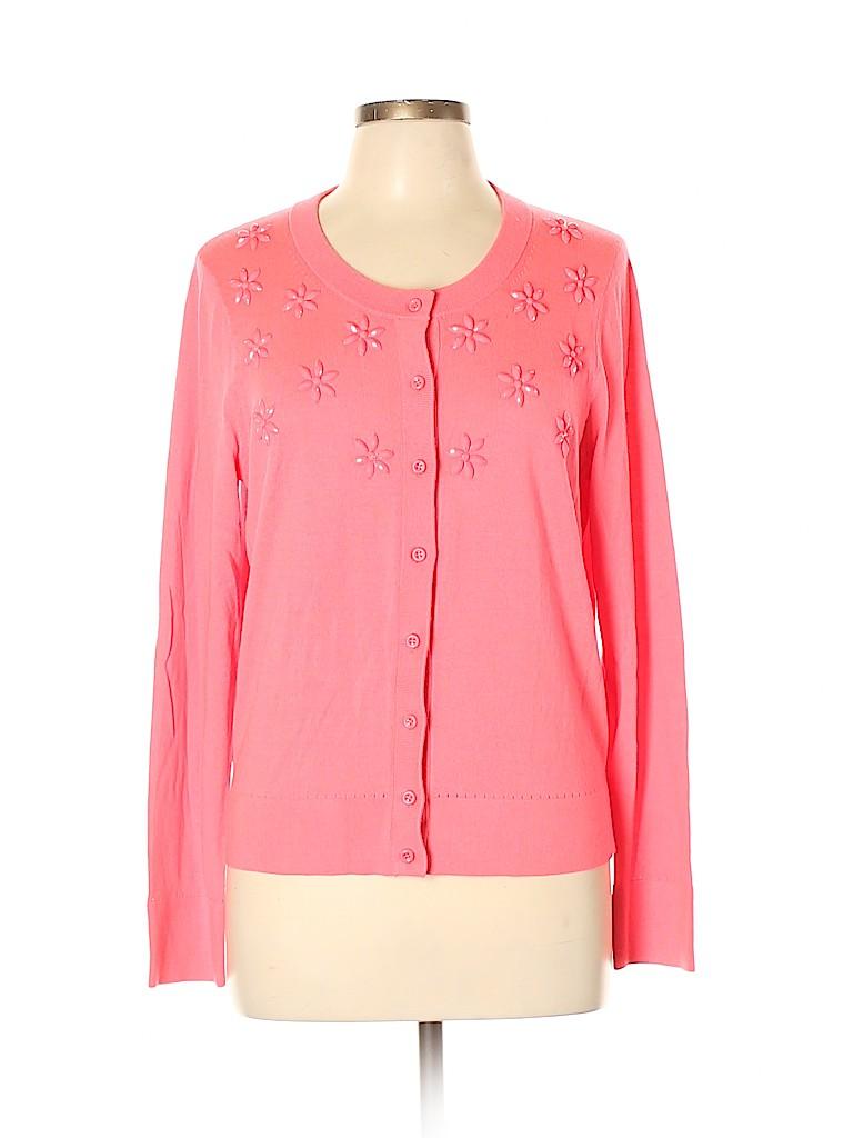 Kate Spade New York Women Silk Cardigan Size XL