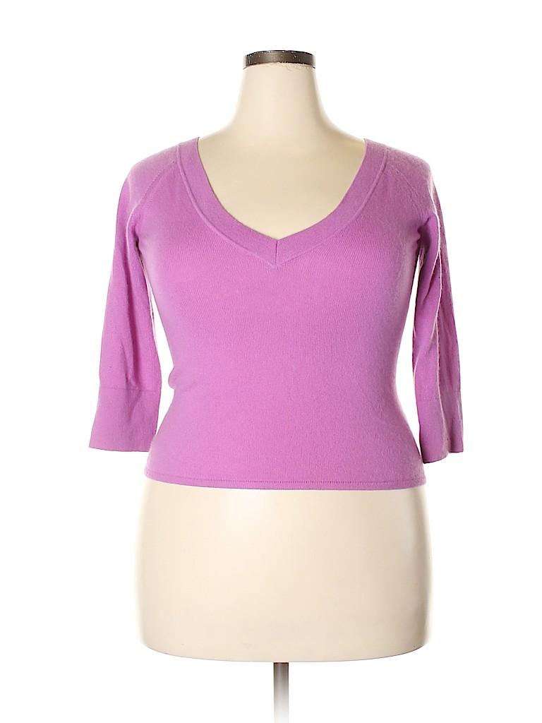 Max Mara Women Cashmere Pullover Sweater Size L
