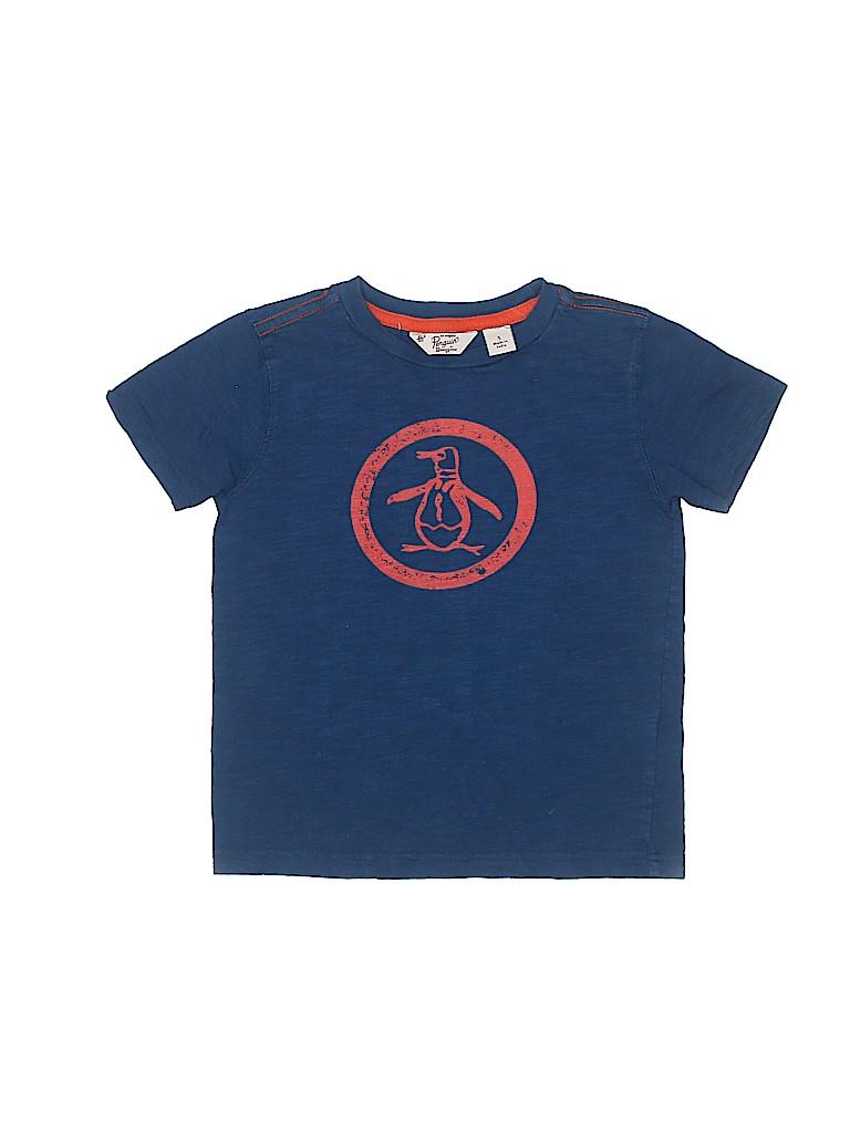 An Original Penguin by Munsingwear Boys Short Sleeve T-Shirt Size 5T