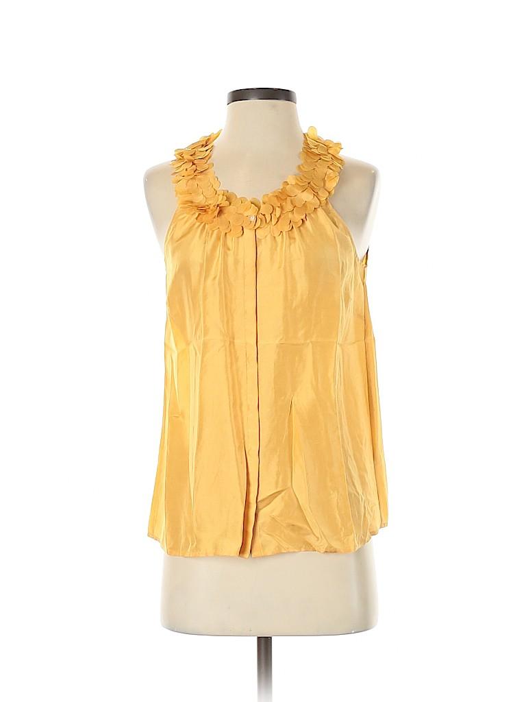 J. Crew Women Sleeveless Silk Top Size 6