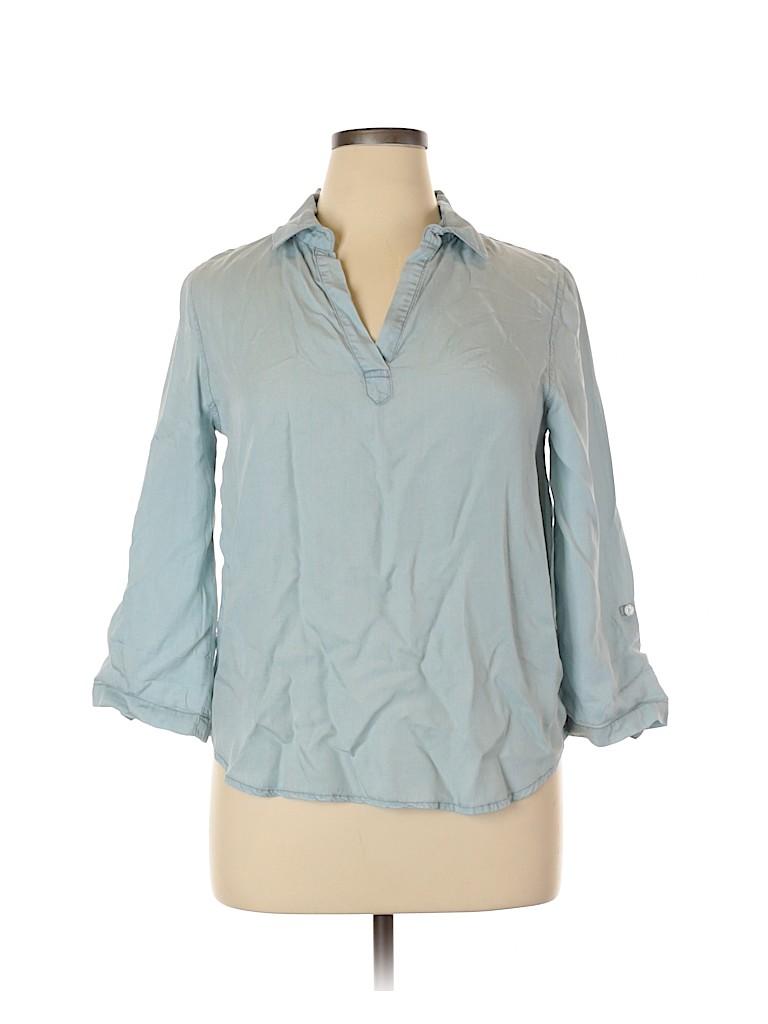 Harper Women 3/4 Sleeve Blouse Size L
