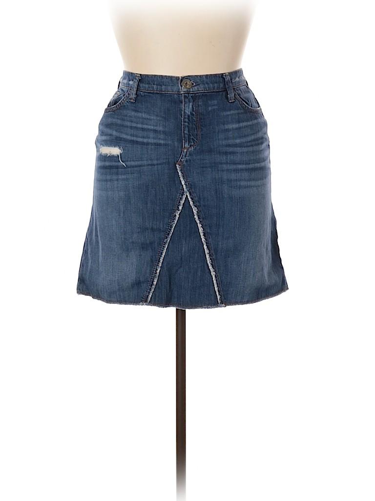 Banana Republic Women Denim Skirt 30 Waist