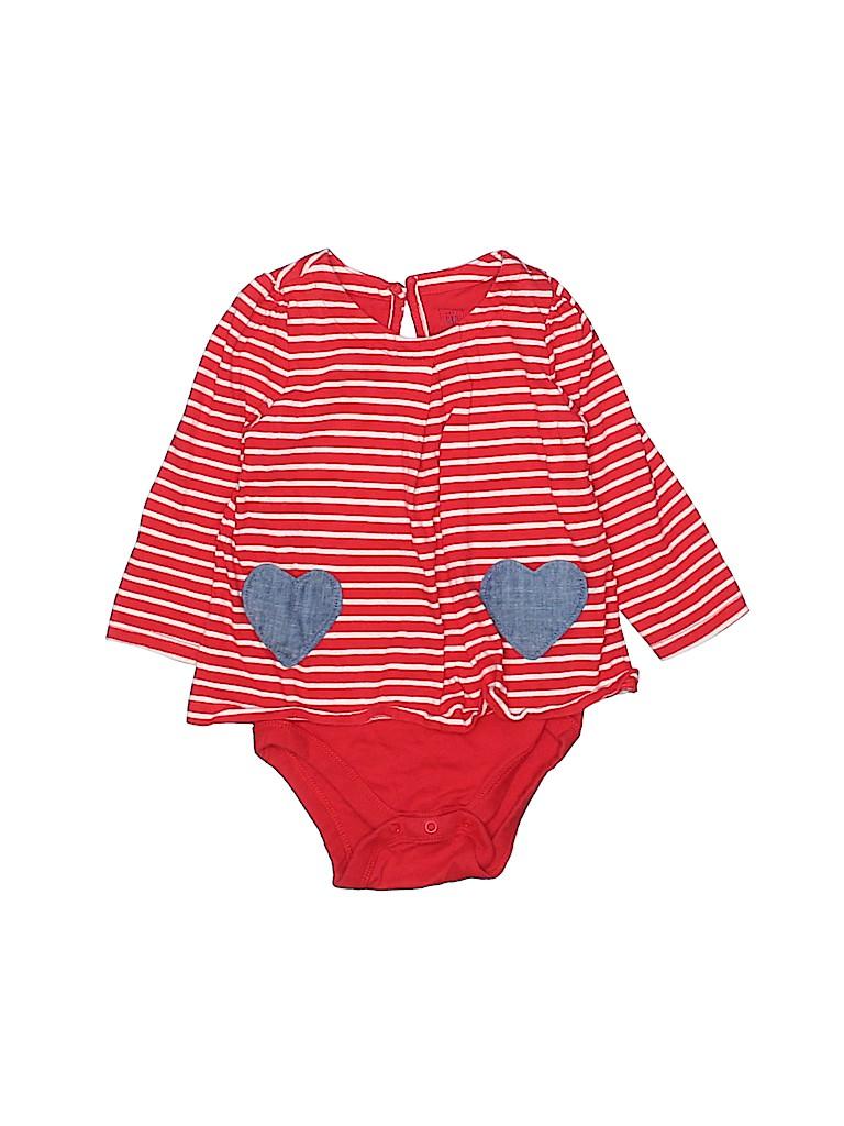 Baby Gap Girls Long Sleeve Onesie Size 18-24 mo
