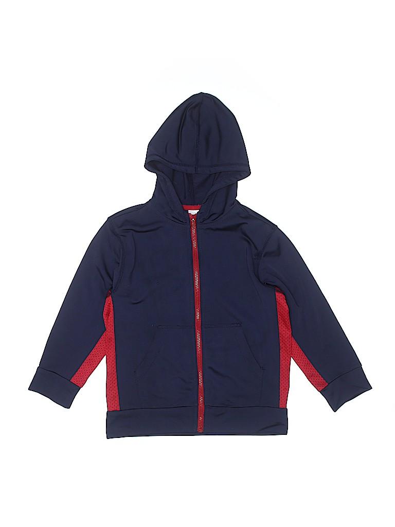 Gymboree Boys Zip Up Hoodie Size 5 - 6