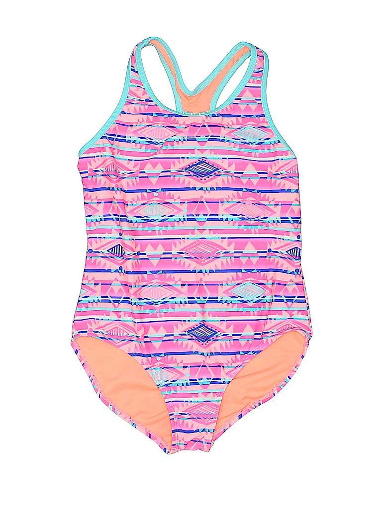 Miss Attitude Girls One Piece Swimsuit Size 12