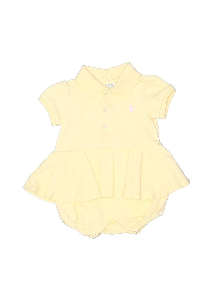 Ralph Lauren Girls Short Sleeve Polo Size 3 mo