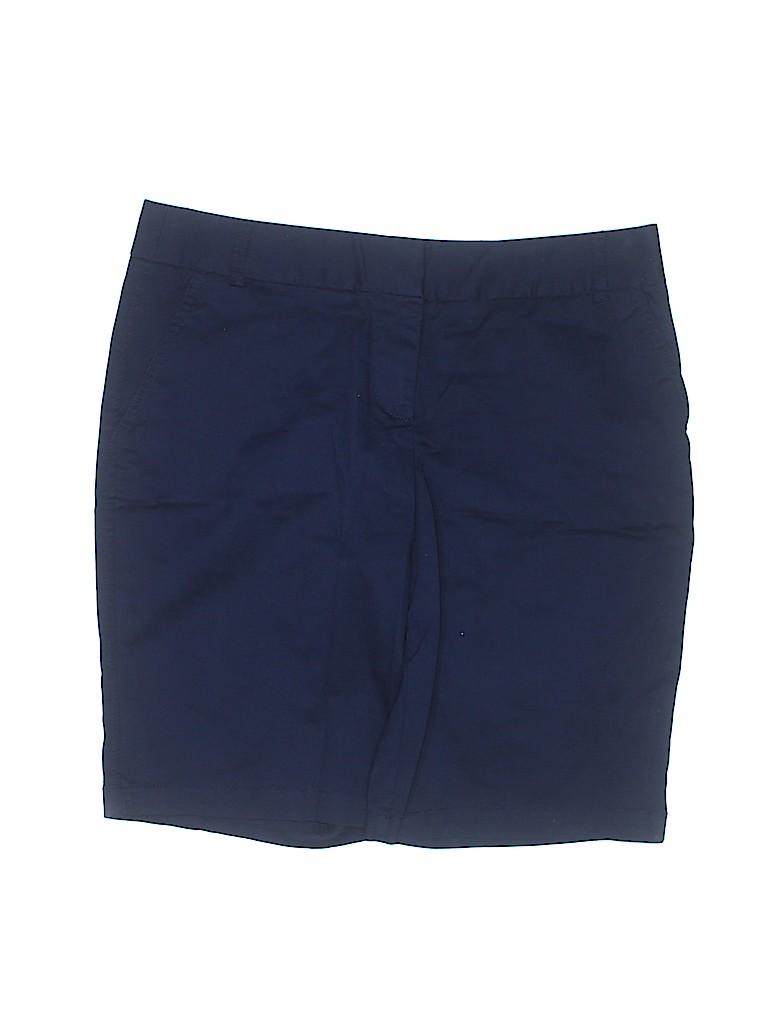 Roz & Ali Women Khaki Shorts Size 10