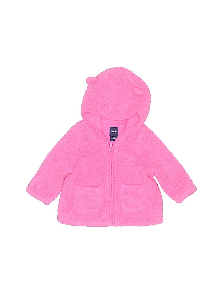 Baby Gap Girls Fleece Jacket Size 3-6 mo