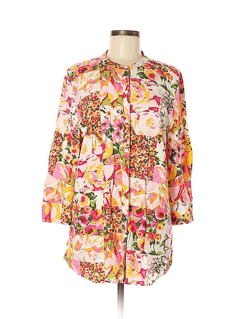 Isaac Mizrahi LIVE! Women 3/4 Sleeve Blouse Size M