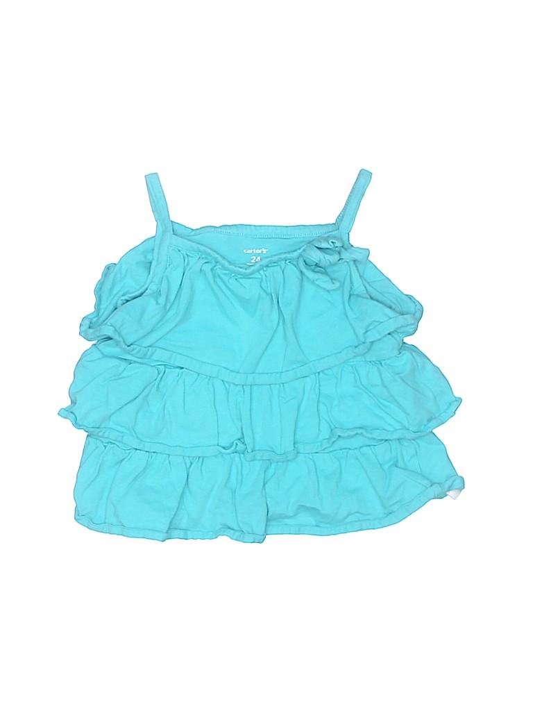 Carter's Girls Sleeveless Blouse Size 24 mo