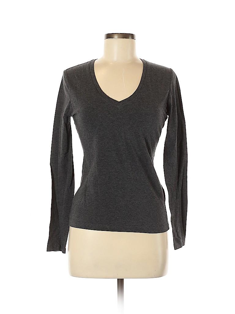 Banana Republic Women Long Sleeve T-Shirt Size XS