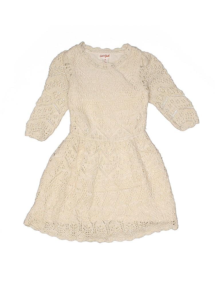 Cat & Jack Girls Dress Size 4T