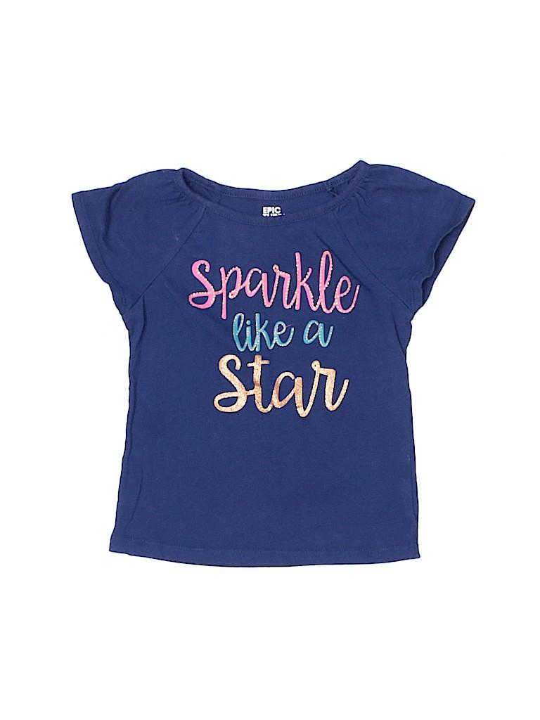 Epic Threads Girls Short Sleeve T-Shirt Size 4T