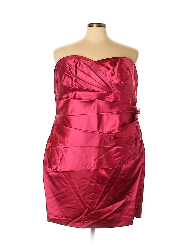 David's Bridal Women Cocktail Dress Size 26 (Plus)