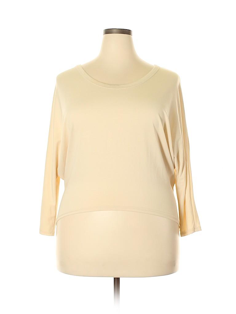 Unbranded Women 3/4 Sleeve Top Size XXL