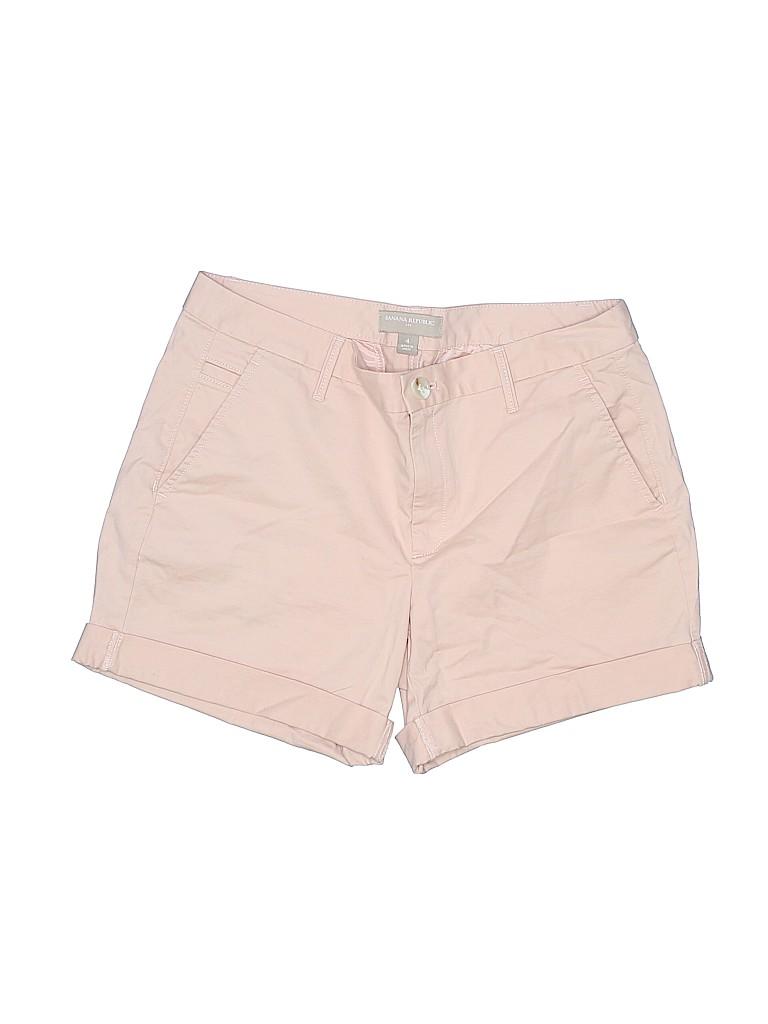 Banana Republic L'wren Scott Women Khaki Shorts Size 4