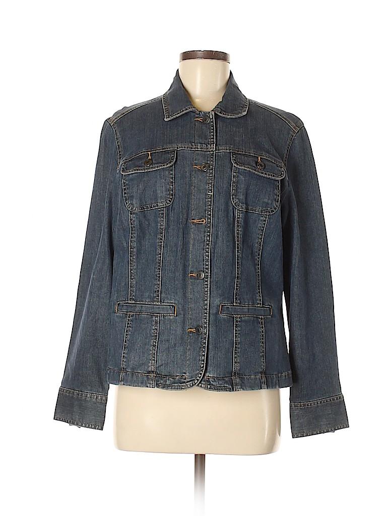 Croft & Barrow Women Denim Jacket Size S