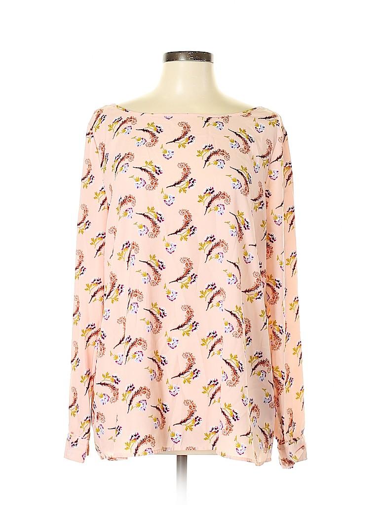 Banana Republic Women Long Sleeve Blouse Size XL