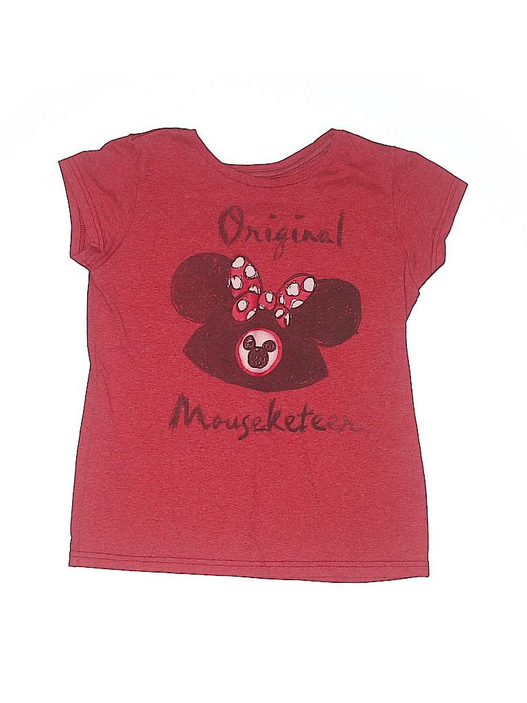 Disney Girls Short Sleeve T-Shirt Size 14