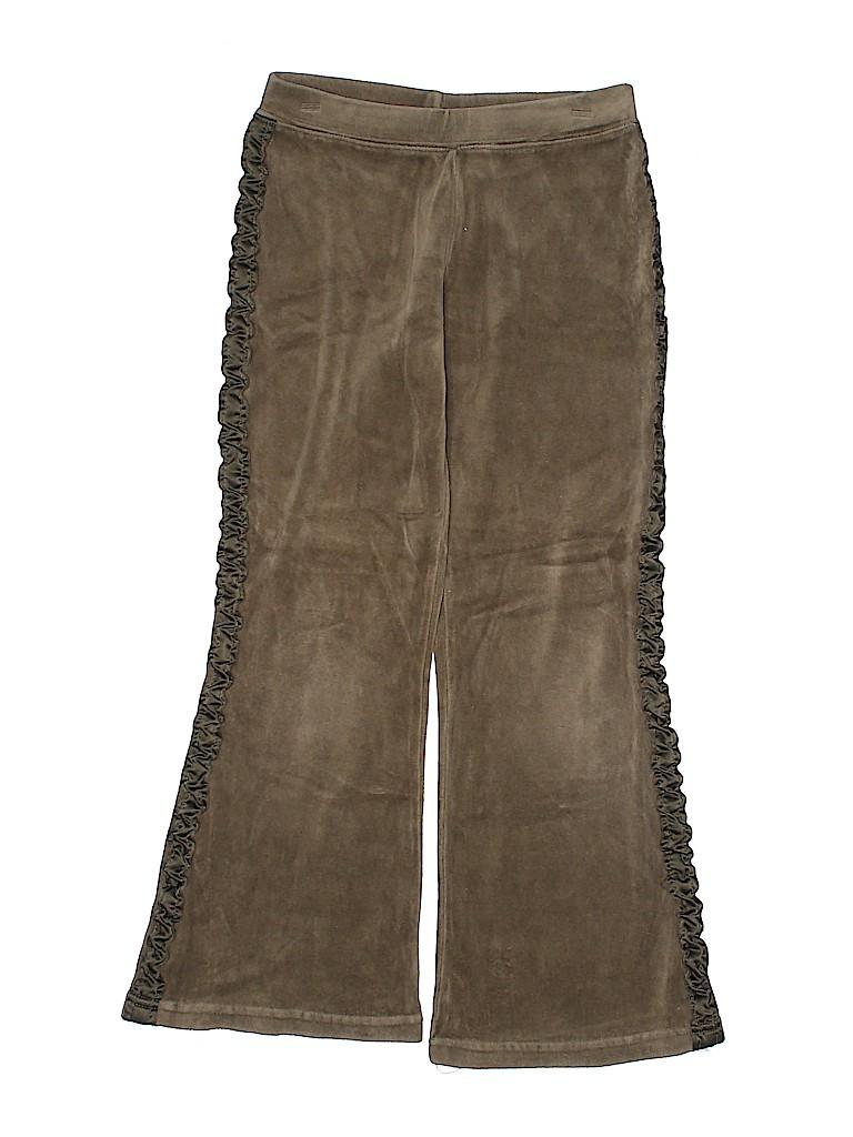 Gymboree Girls Velour Pants Size 6