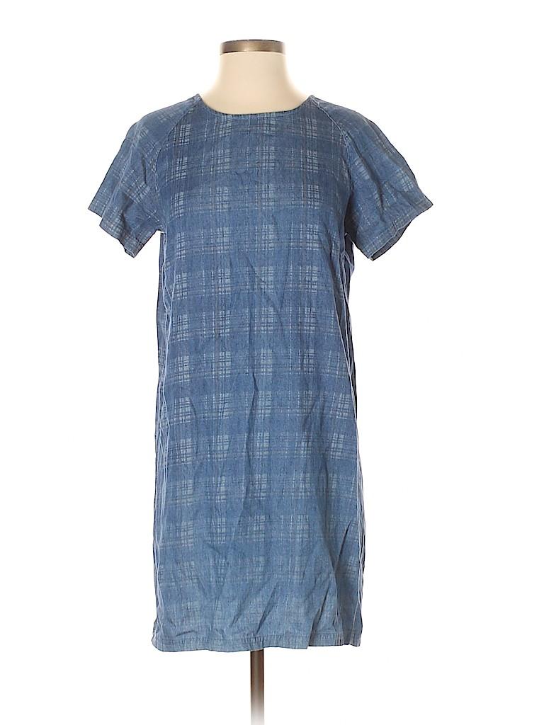 Zip Women Casual Dress Size 36 (EU)