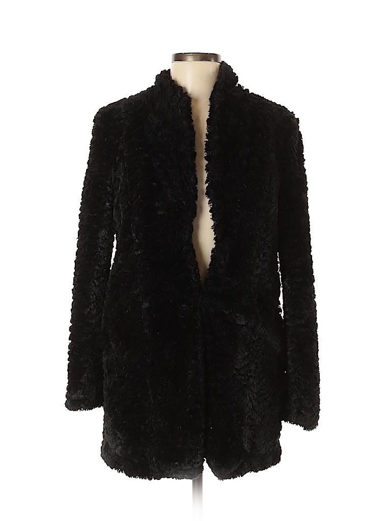 Frenchi Women Faux Fur Jacket Size S