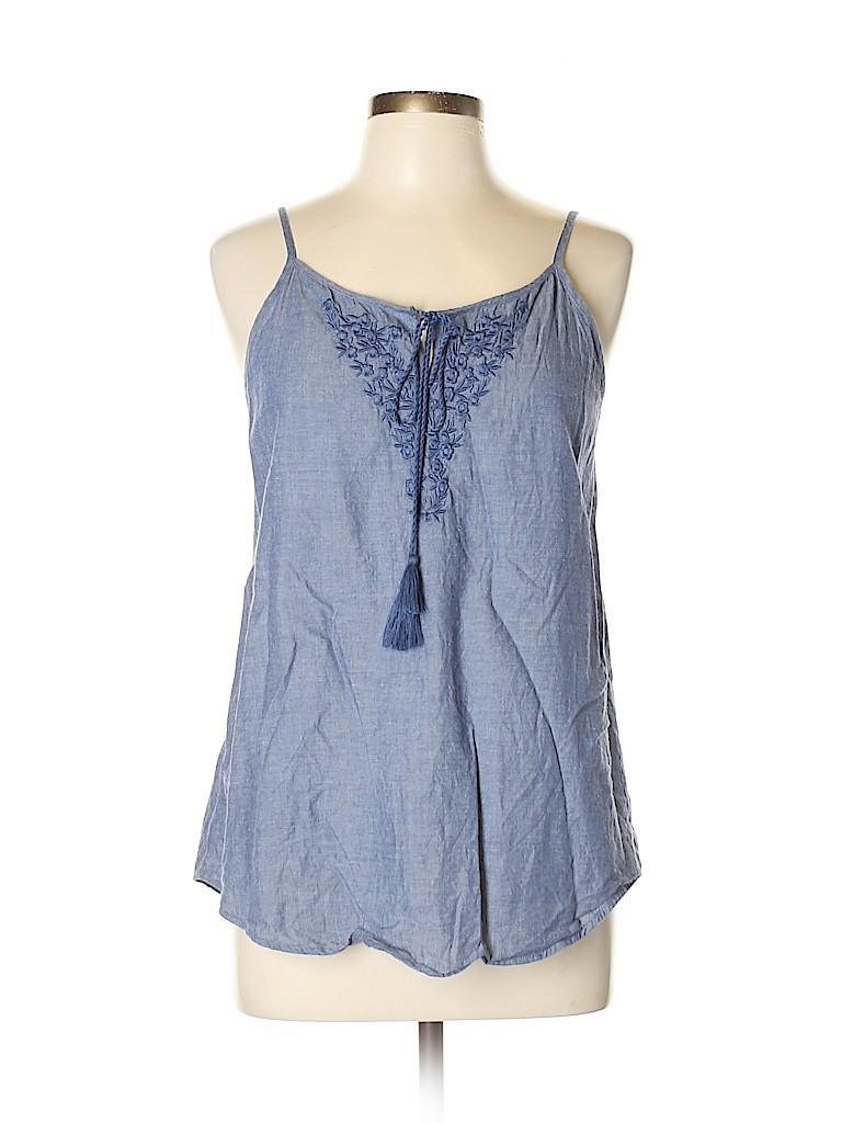 Ann Taylor Factory Women Sleeveless Blouse Size M