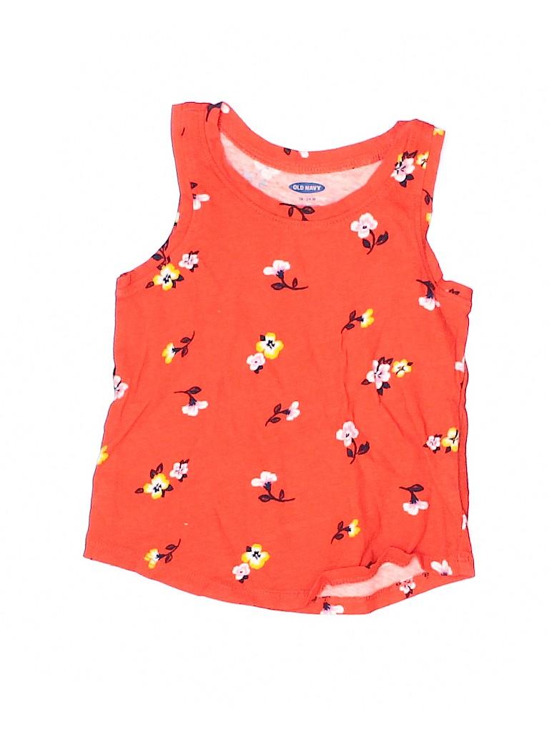 Old Navy Girls Sleeveless T-Shirt Size 18-24 mo