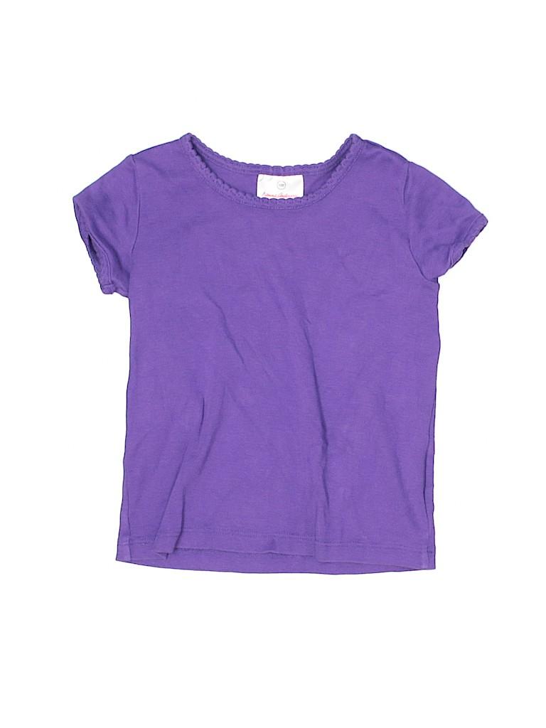 Hanna Andersson Girls Short Sleeve T-Shirt Size 4