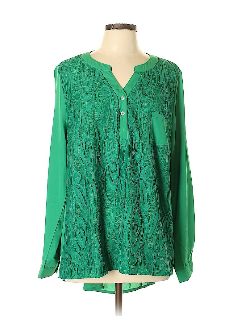 Unbranded Women Long Sleeve Blouse Size XL
