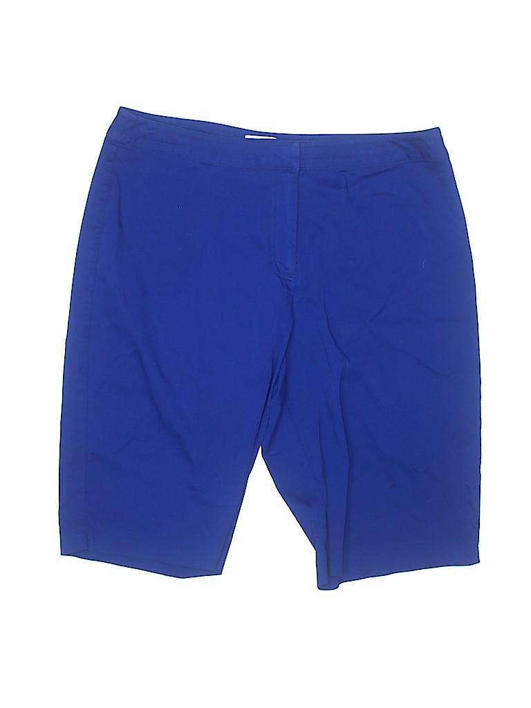 Chico's Women Khaki Shorts Size Med (1.5)