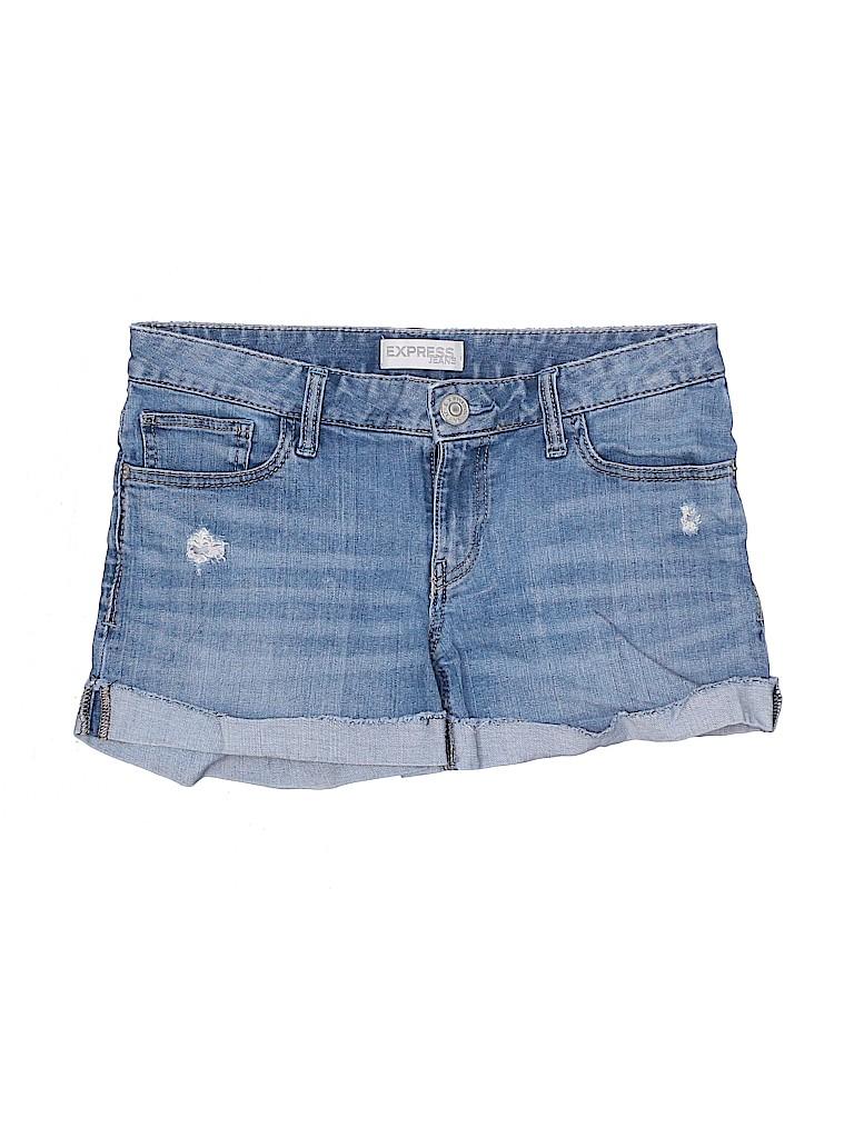 Express Women Denim Shorts Size 4