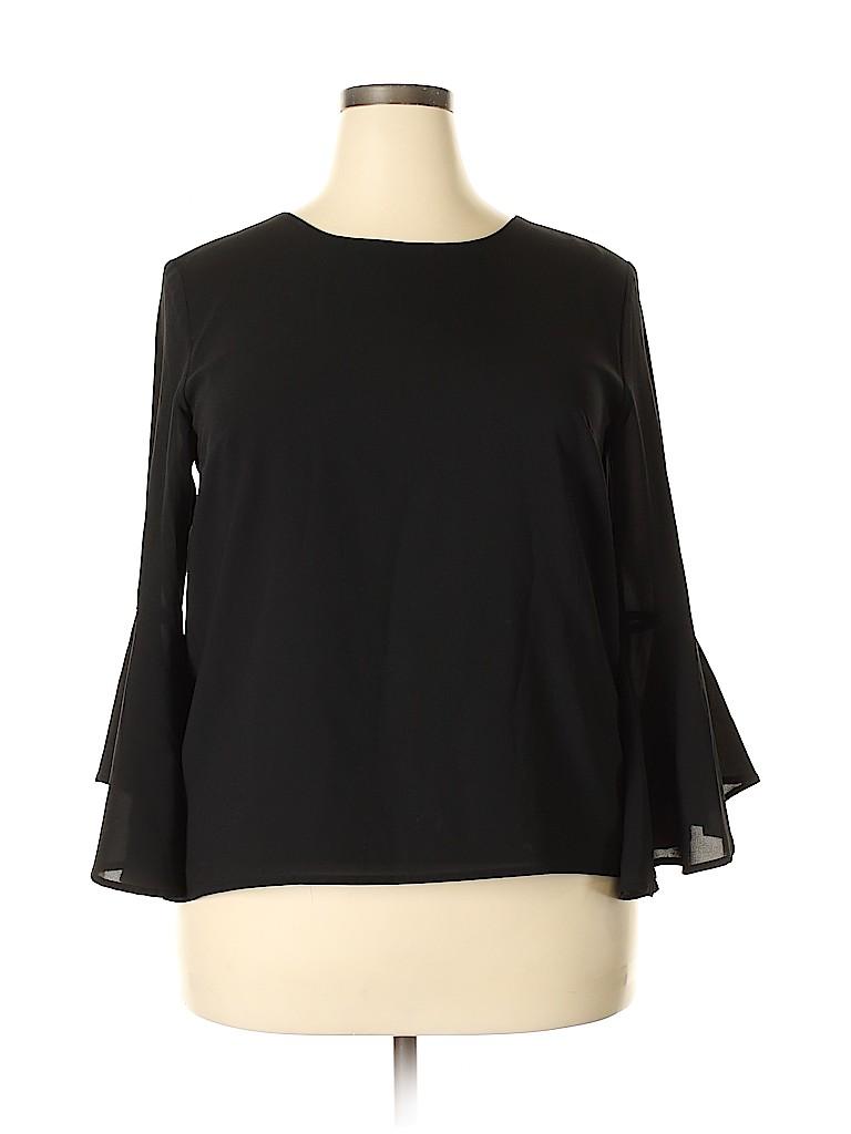 Pixley Women Long Sleeve Blouse Size XL
