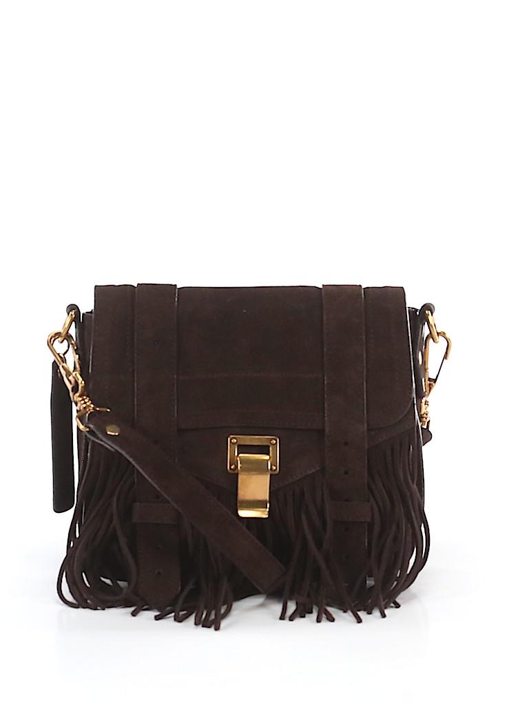 Proenza Schouler Women Leather Crossbody Bag One Size