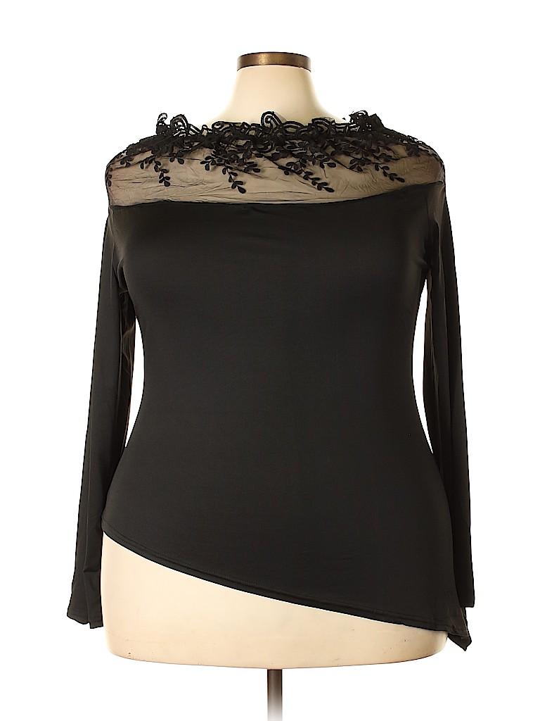 Unbranded Women Long Sleeve Blouse Size 3X (Plus)