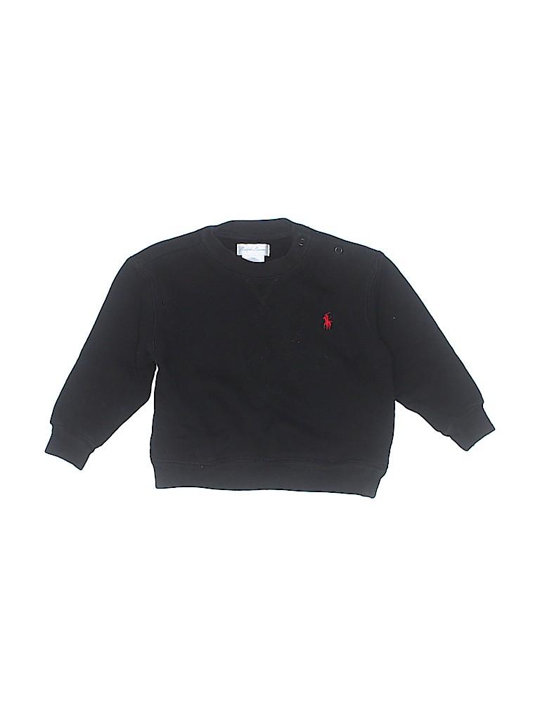 Ralph Lauren Girls Sweatshirt Size 12 mo