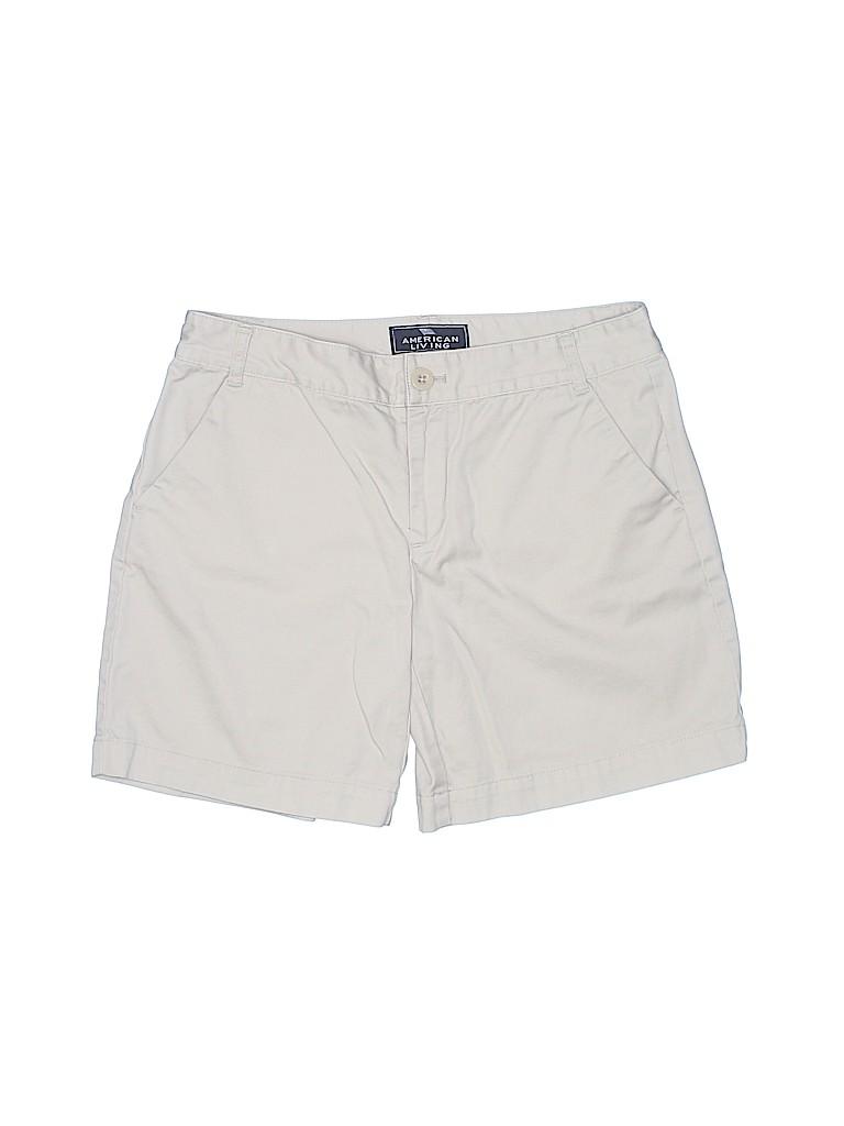 American Living Women Khaki Shorts Size 2