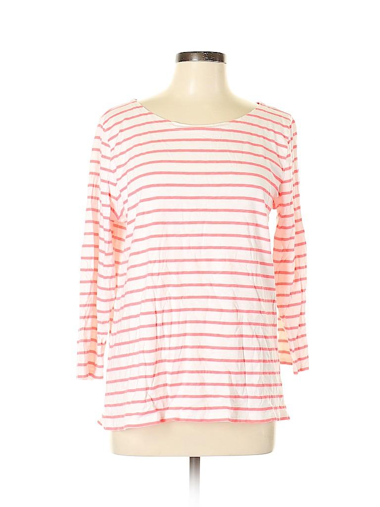 J. Crew Factory Store Women 3/4 Sleeve T-Shirt Size XL
