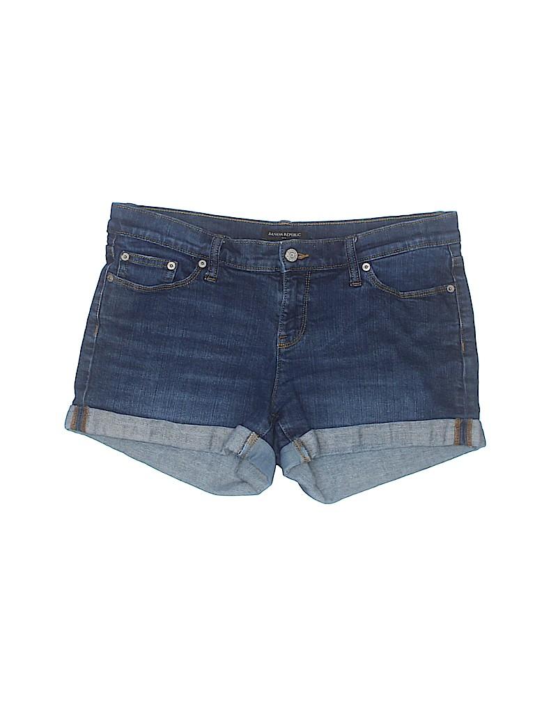 Banana Republic Factory Store Women Denim Shorts Size 6