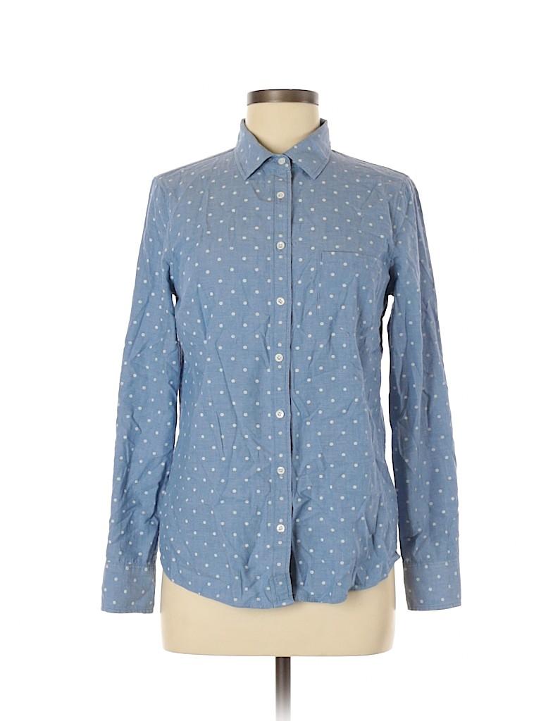 J. Crew Women Long Sleeve Button-Down Shirt Size 6