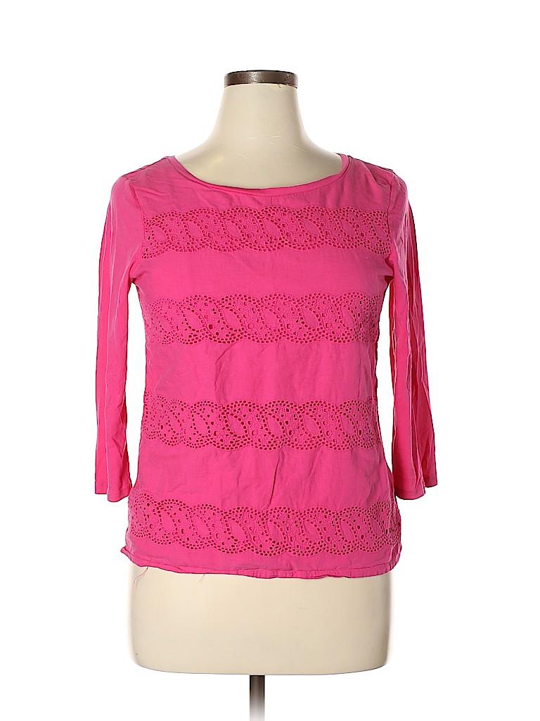 Gap Outlet Women 3/4 Sleeve Blouse Size L