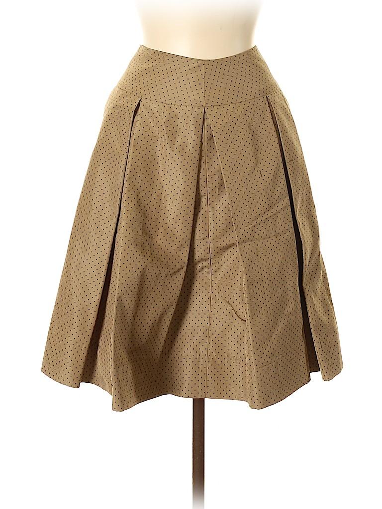 Prada Women Silk Skirt Size 44 (IT)