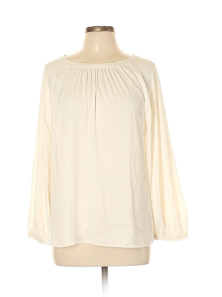 Ann Taylor Women Long Sleeve Blouse Size L