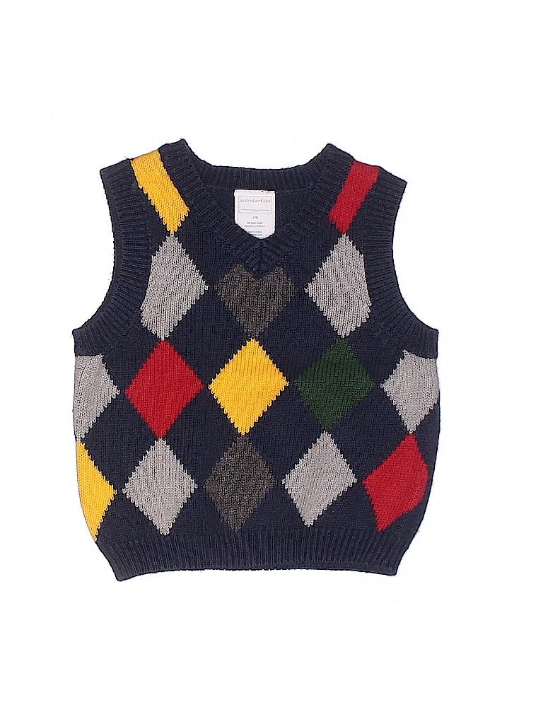 WonderKids Boys Sweater Vest Size 12 mo