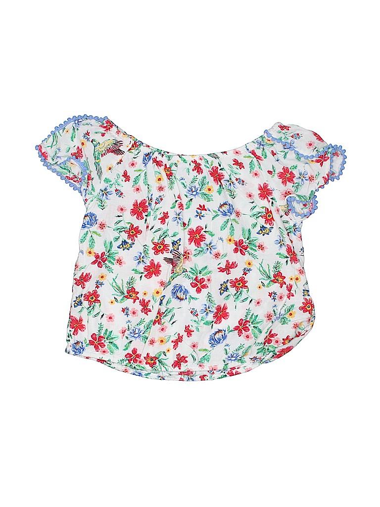 Old Navy Girls Short Sleeve Blouse Size 10 - 12