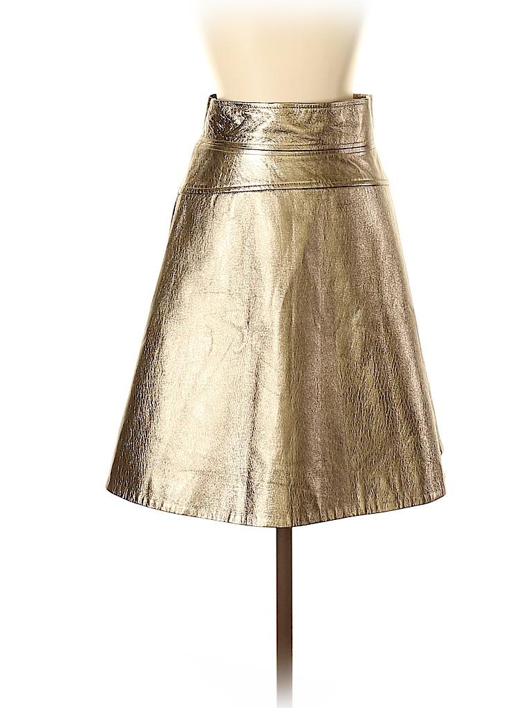 Temperley LONDON Women Leather Skirt Size 4