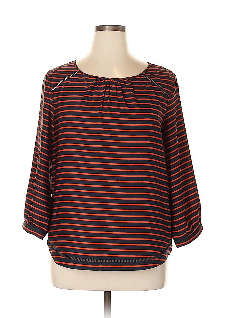 J. Crew Women Long Sleeve Blouse Size L