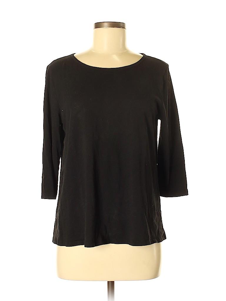 Ann Taylor LOFT Women 3/4 Sleeve T-Shirt Size M